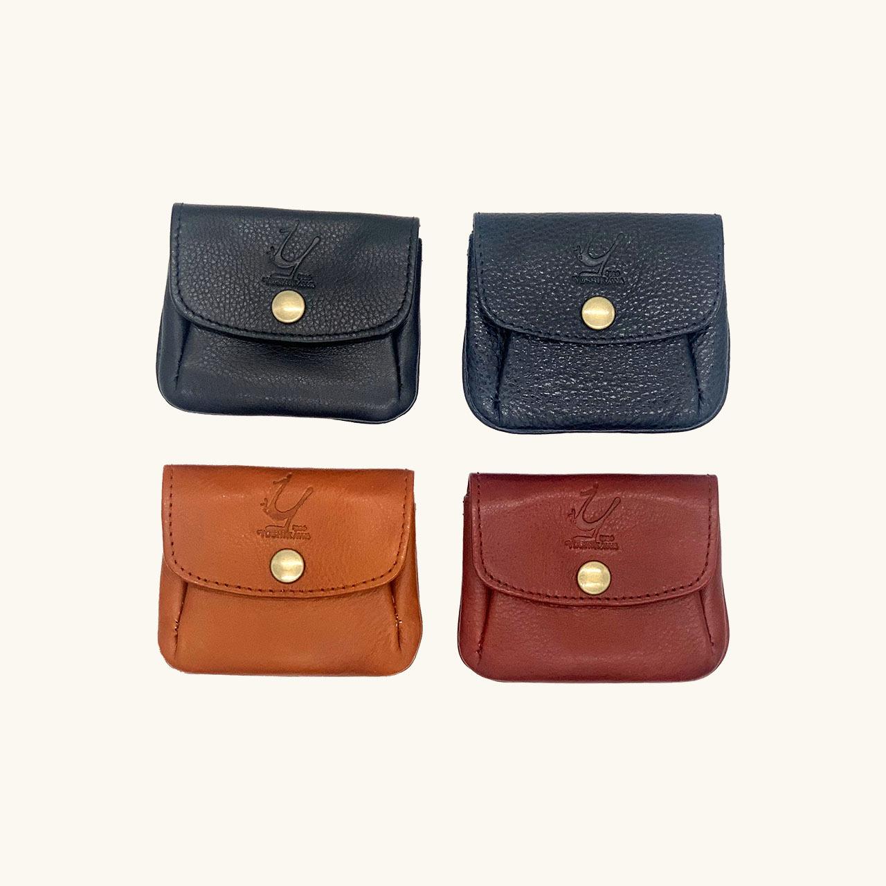 【各カラー限定数1】株式会社ヨシカワ 鞄職人が作るコインケース
