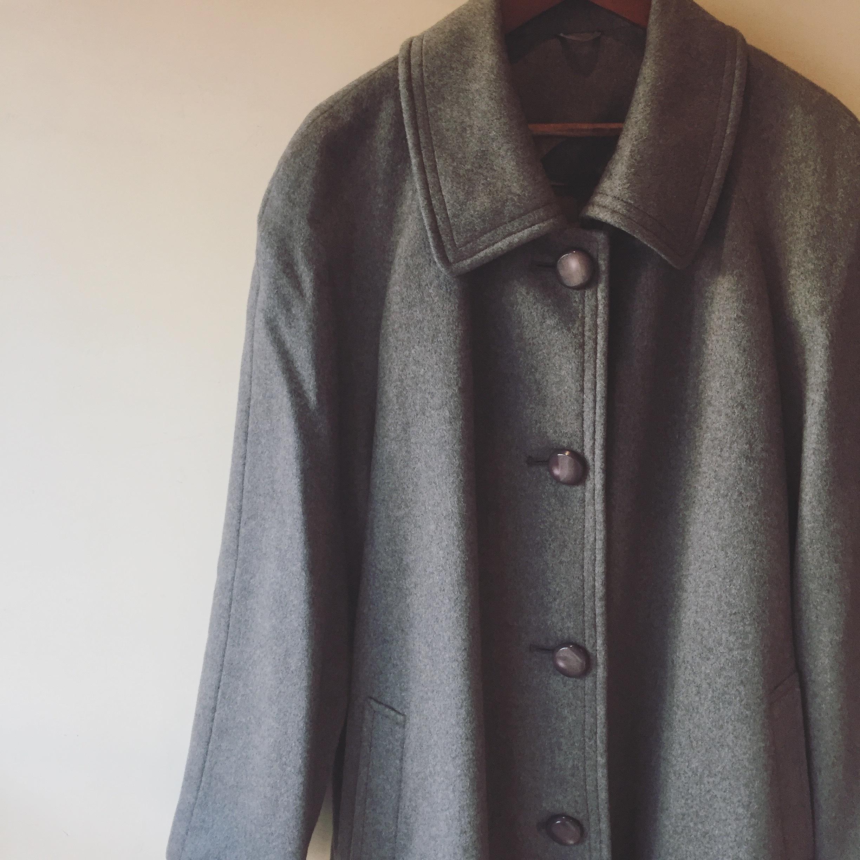 vintage cashmere coat