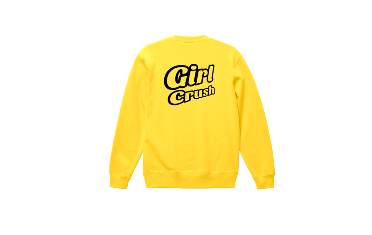 coguchi girl crush sweat (yel/bk)