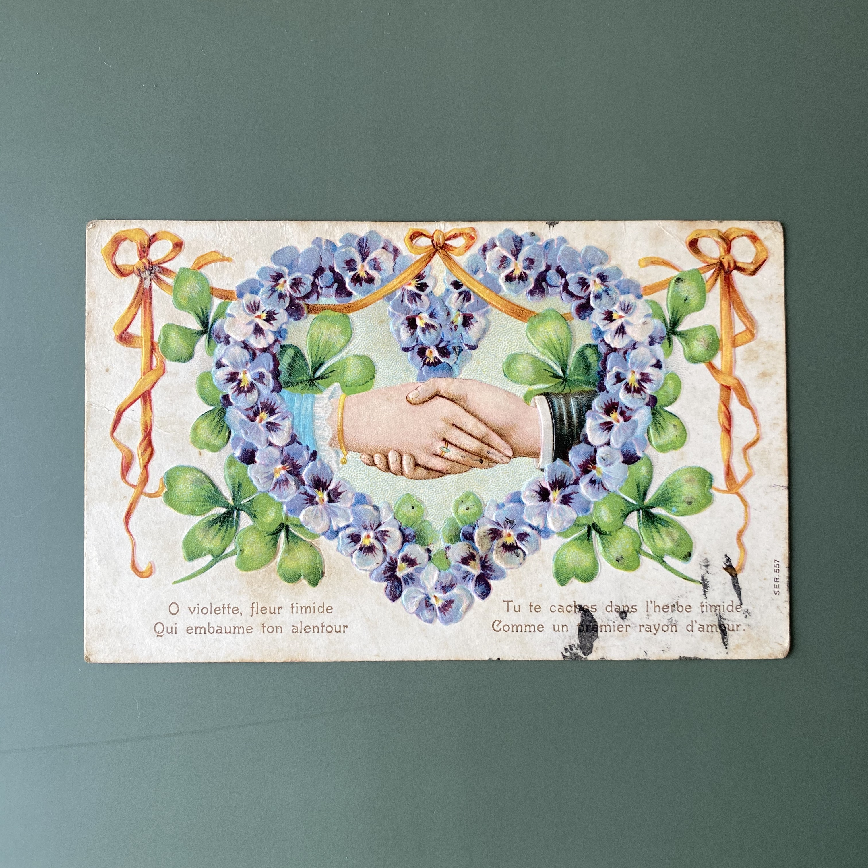 アンティーククローバーのポストカード・o /  vp0193