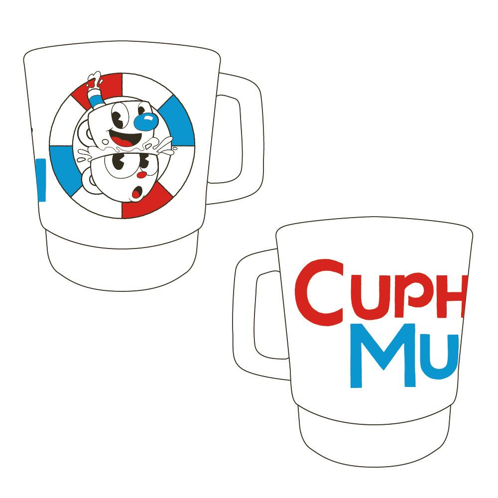 CUPHEAD ( カップヘッド ) スタッキングマグカップ A / エンスカイ