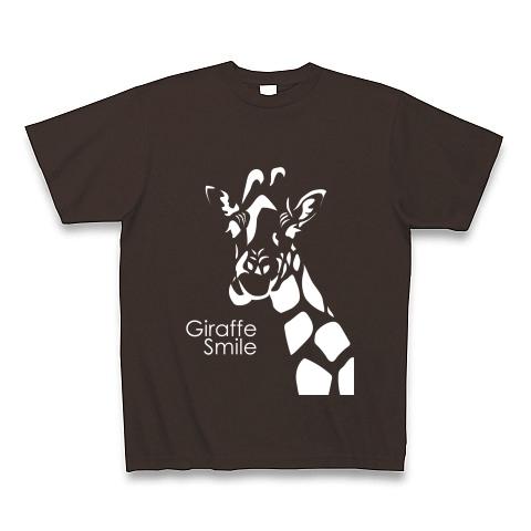 メンズTシャツ☆giraffe☆チョコレート