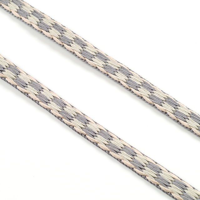 龍工房帯締め-平組-素鼠