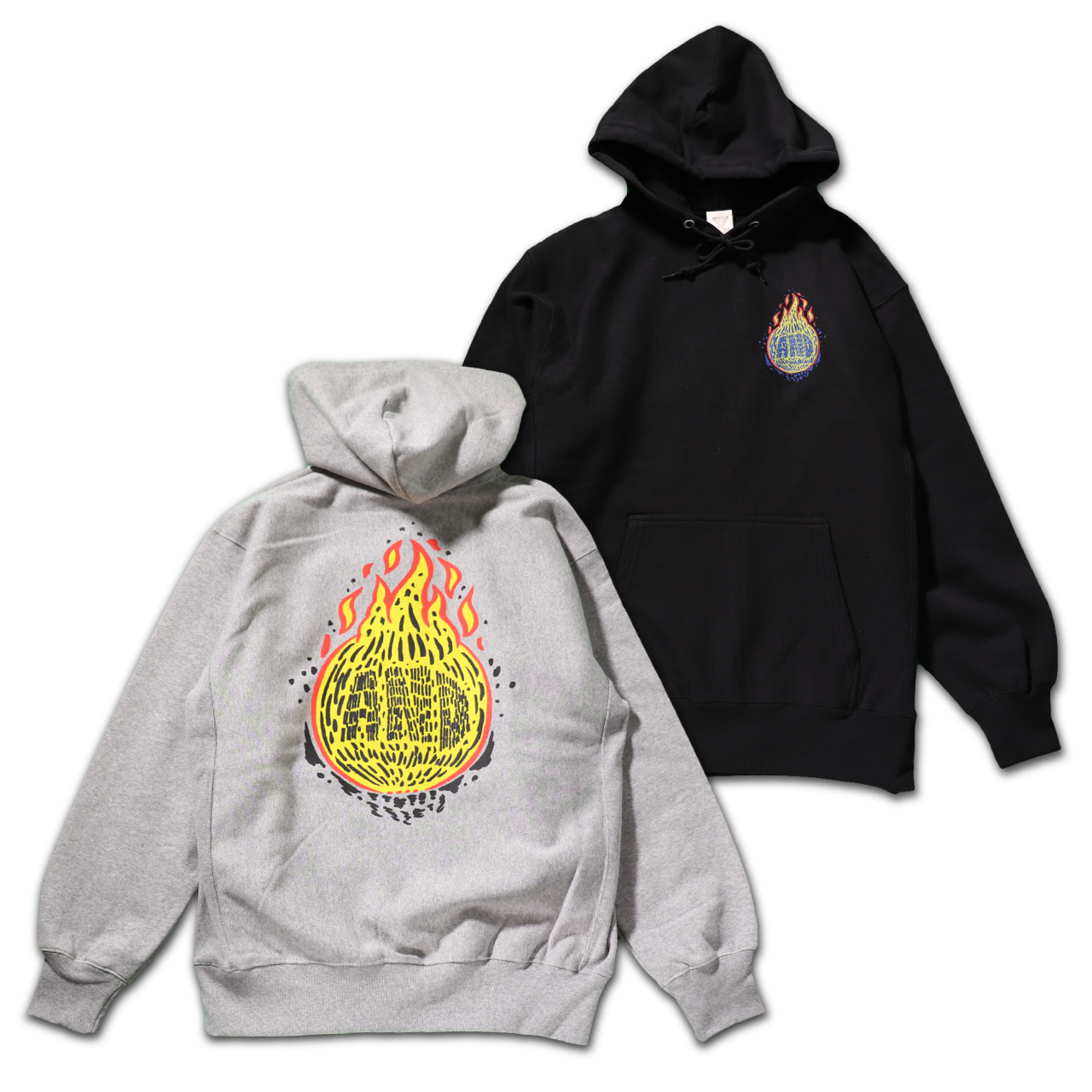 FIRE BALL Pullover Hoodie