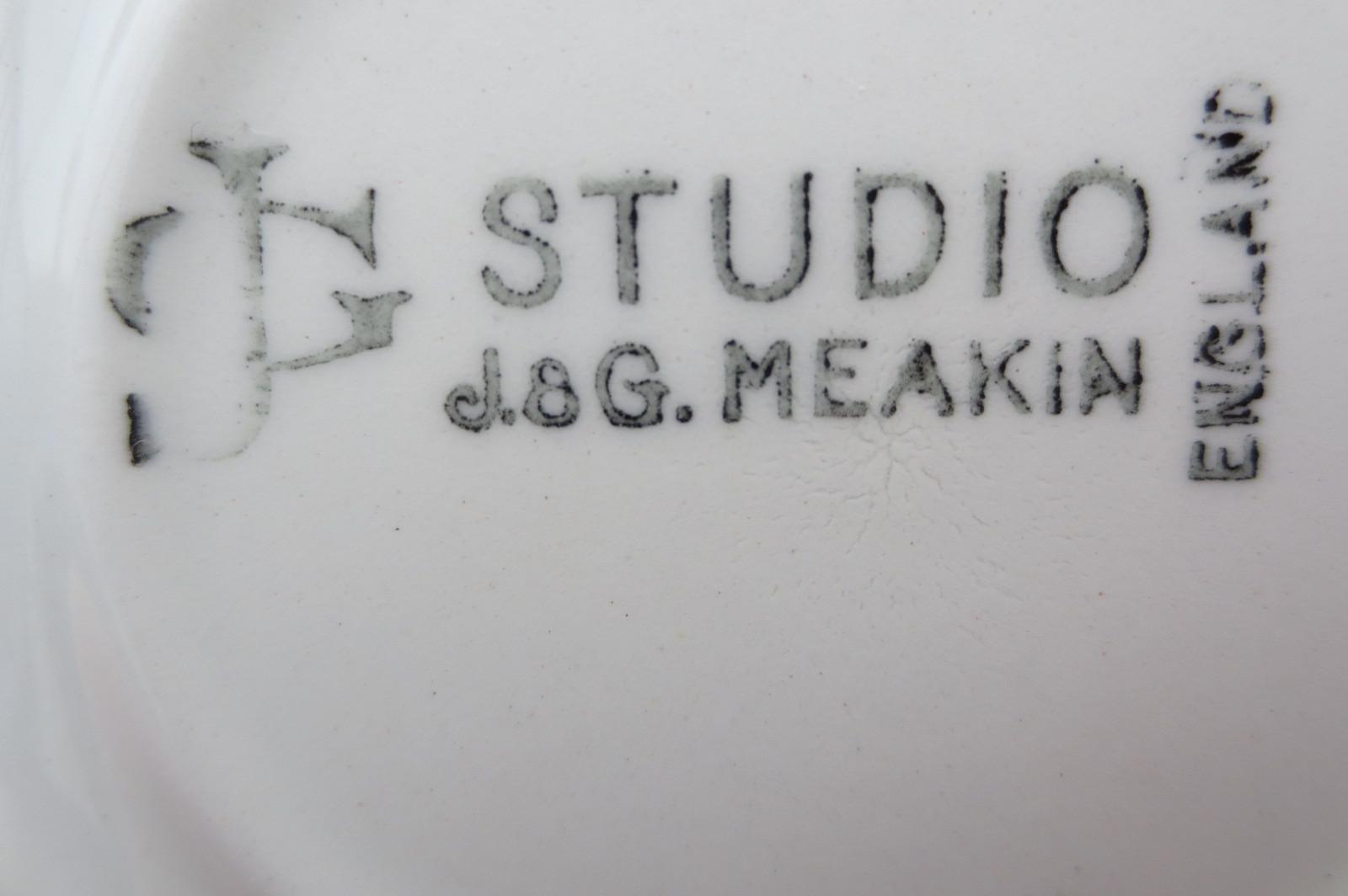 イギリス★J&Gミーキン★アズテックのカップ&ソーサー