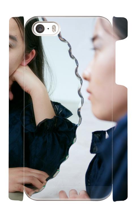 《受注生産》iphone5/5s/SEケース:mirror&girl