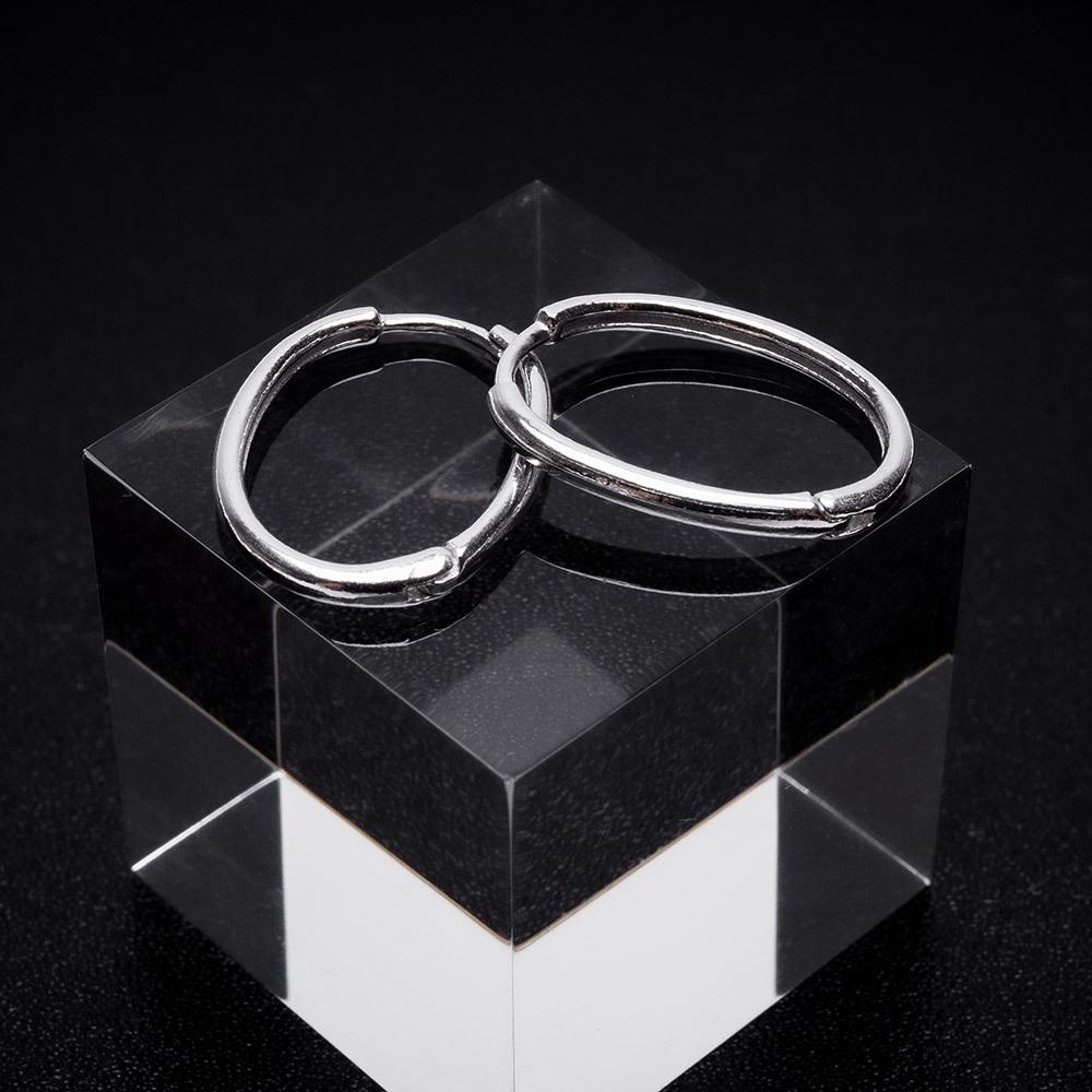 circle pierce silver 925