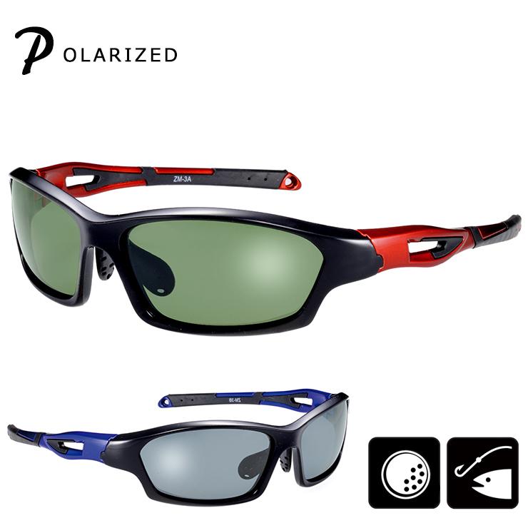 a70a39ca85eeca 偏光サングラス Z-AIR3 偏光 サングラス メンズ レディース UVカット [男性・女性共に:Mサイズ] [ ゴルフ ランニング マラソン  ロードバイク 釣り用・フィッシング ...
