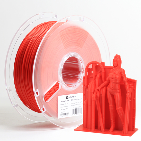 PLAフィラメント Polymaker PolyLite PLA 1.75mm  1000g - 画像3