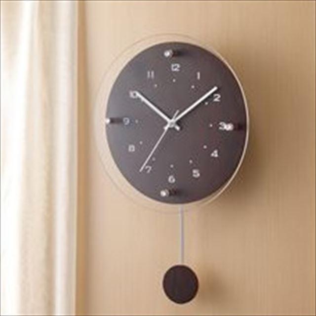 振り子時計 電波時計 ナチュラル Antilles ~アンティール~ W-473 ノア精密 - 画像1