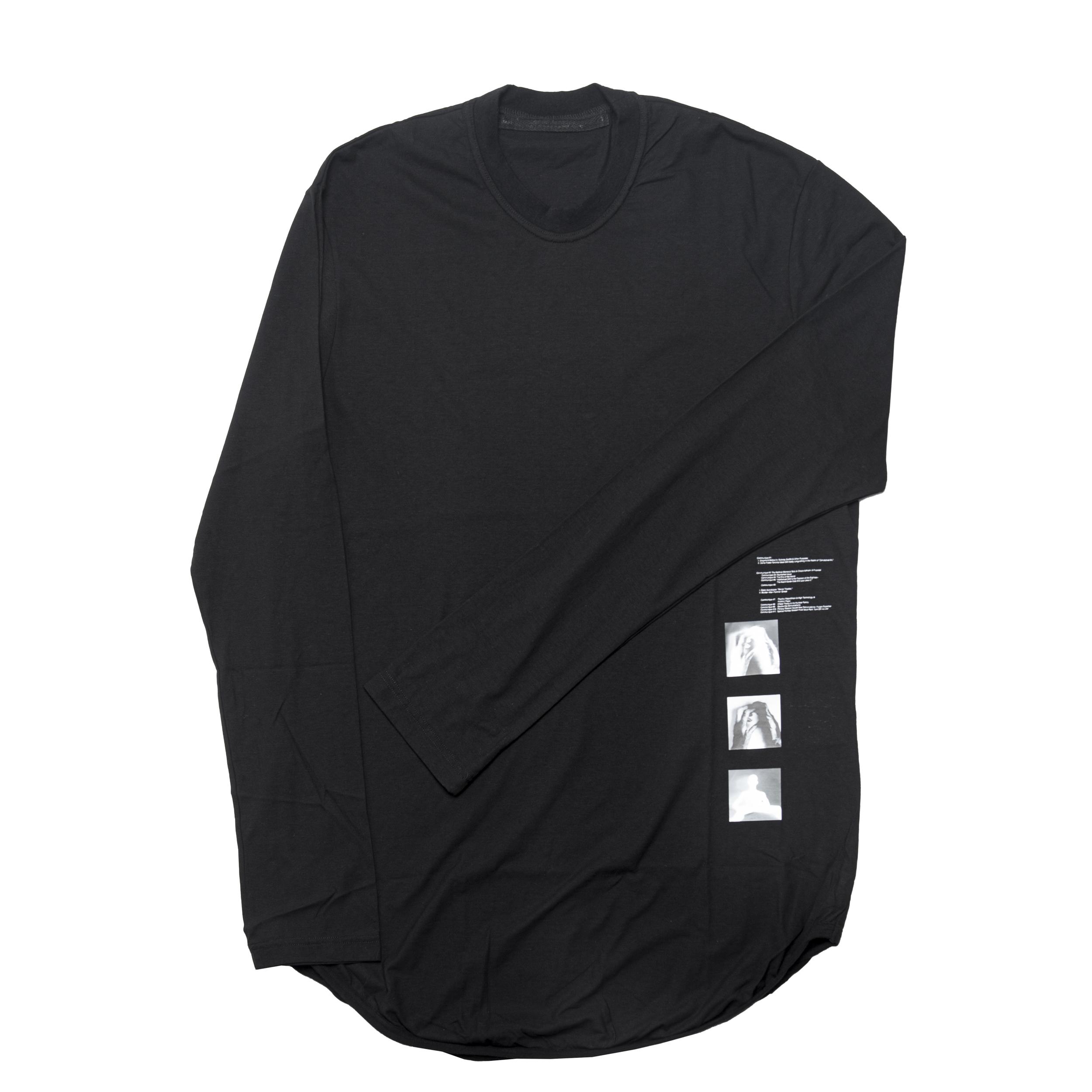 677CPM10-BLACK / T. A. Z. ロングスリーブラウンド Tシャツ