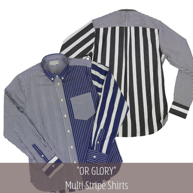 Multi Stripe Shirts 【OR GLORY】