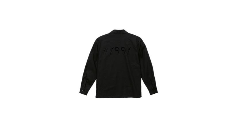 coguchi 1991 open collar shirt (BK/BK)