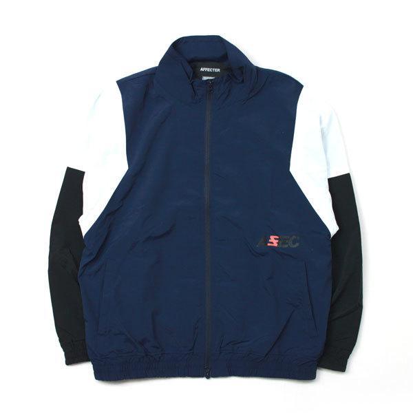 【送料無料】AFFECTER (アフェクター) | AFF Truck Jacket (Navy)