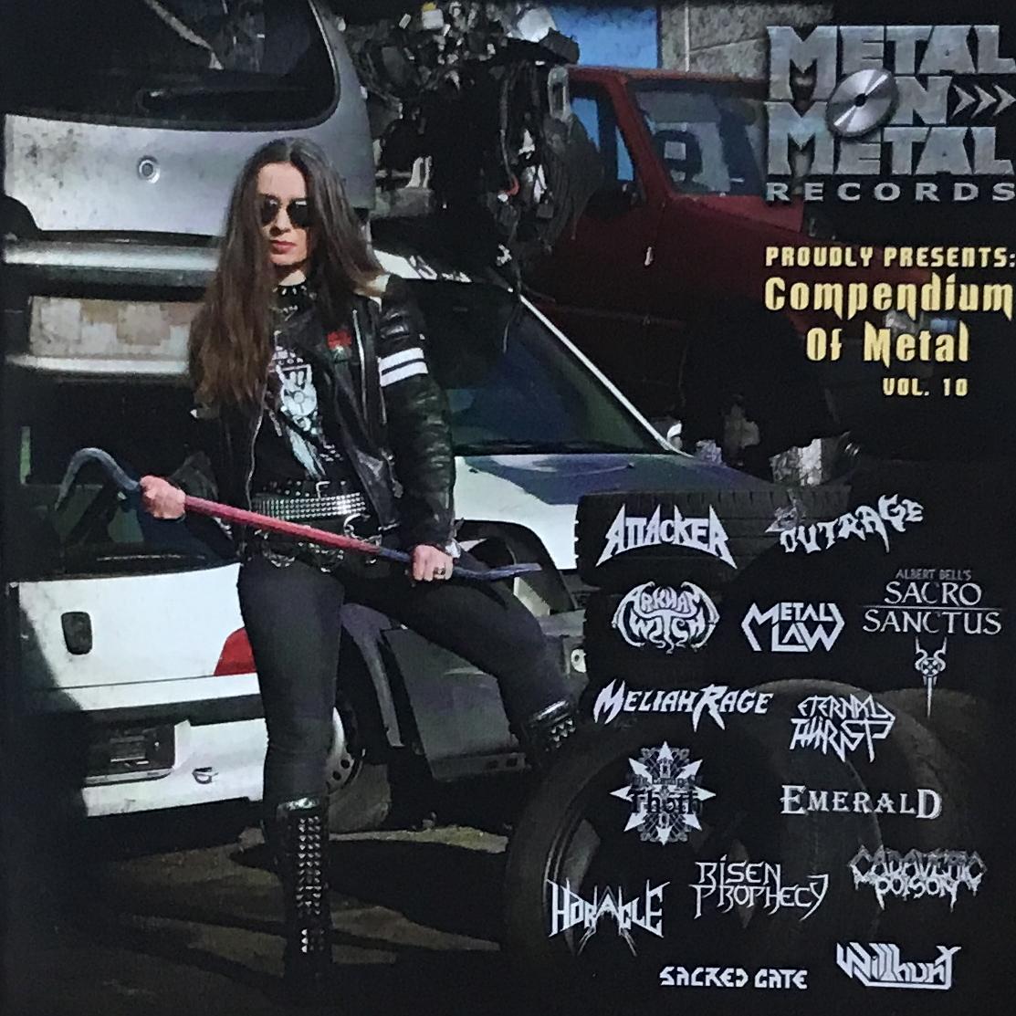 "Metal On Metal Records Various Artists ""Compendium of Metal Vol. 10"""