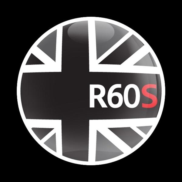 ゴーバッジ(ドーム)(CD0159 - FLAG BLACKJACK R60S) - 画像1