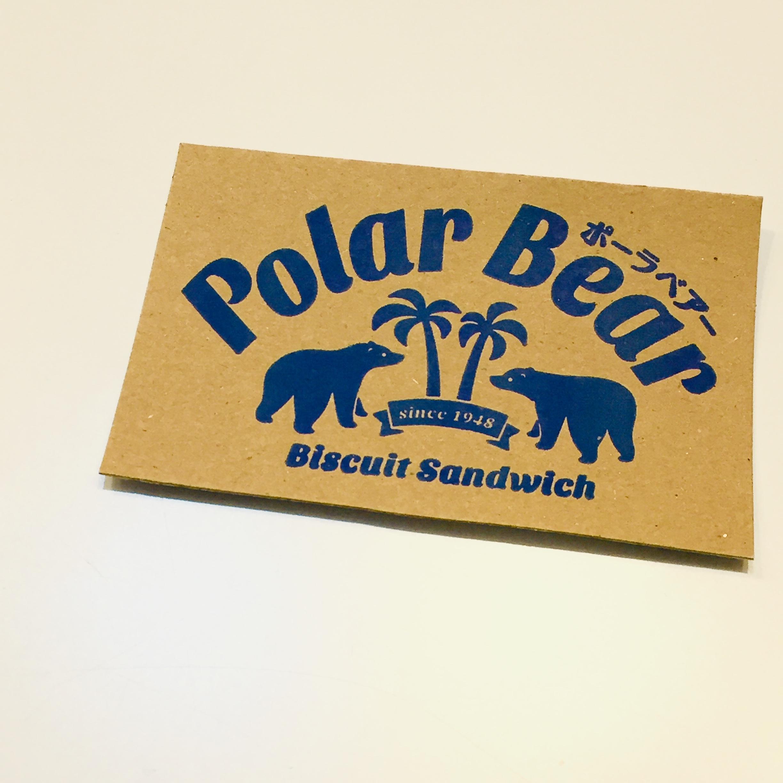 Polar Bear ステッカー / rubodan ( ルボダーン )