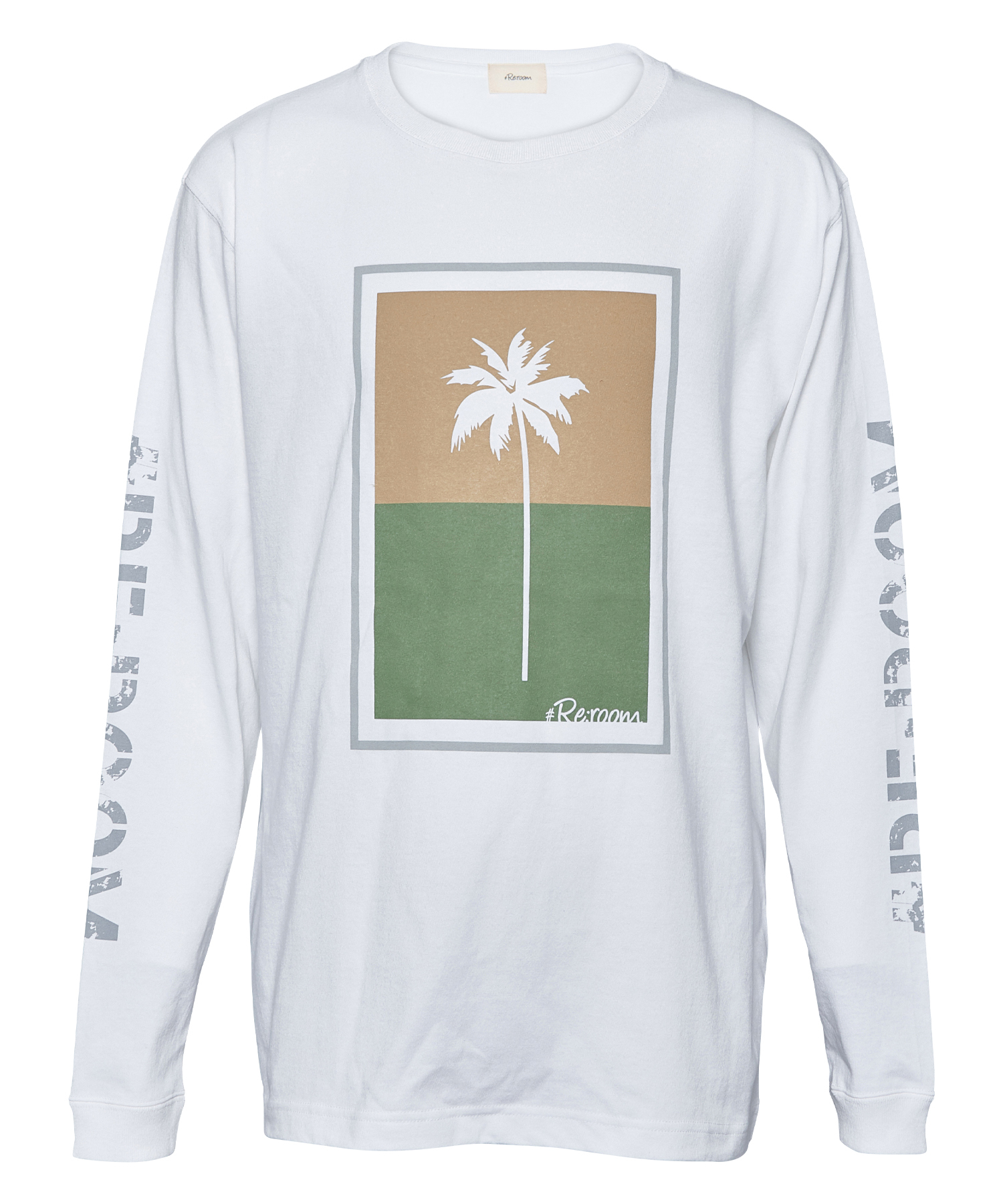 PALM TREE ARM LOGO LONG SLEEVE[REC329]