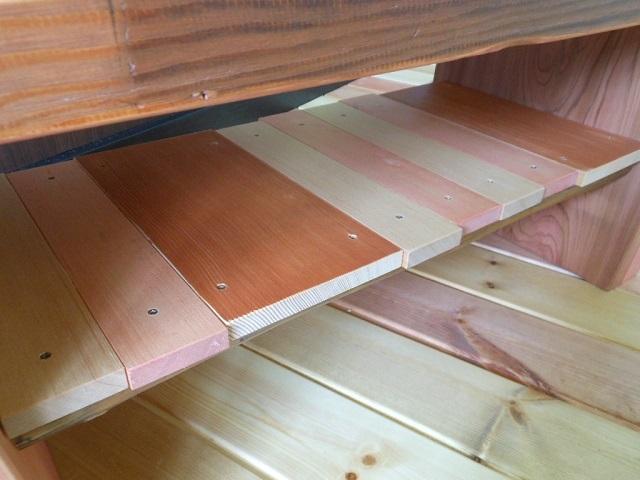 古材 ローテーブル03 - 画像5