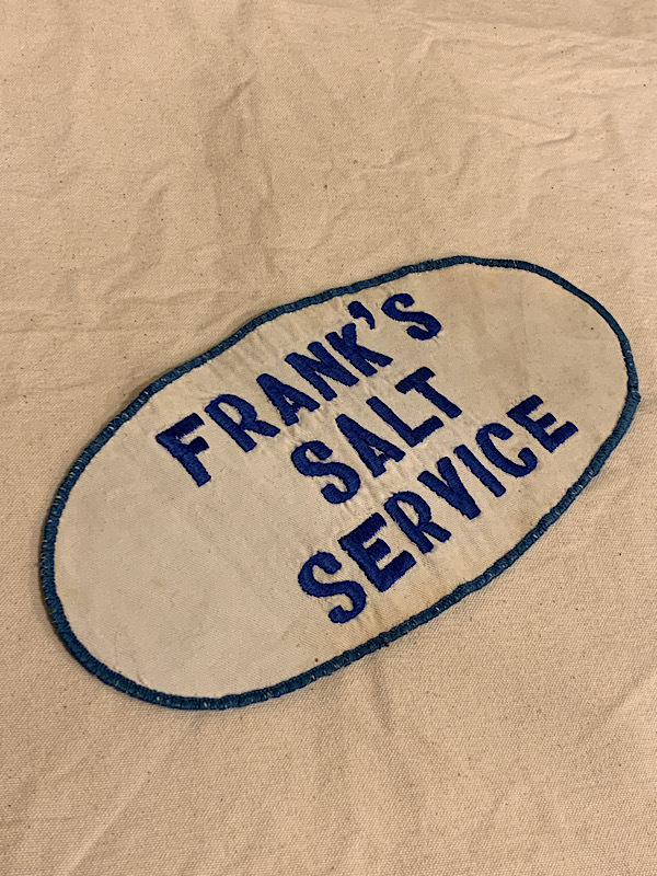 "PATCH "" FRANK'S  SALT SERVIC """