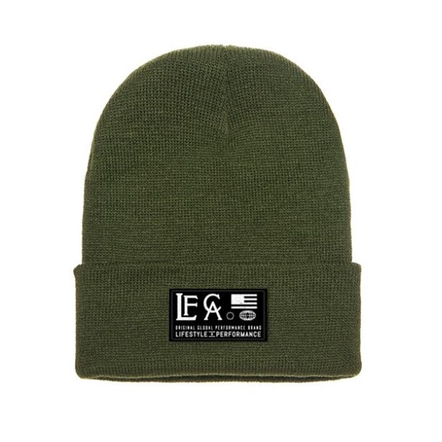LIVE FIT Global Beanie- Olive