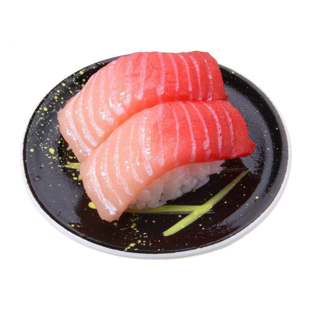 [0007]食品サンプル屋さんのマグネット(回転寿司:中トロ)【メール便不可】