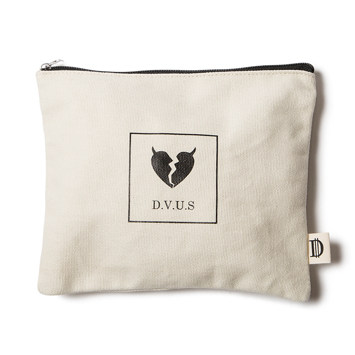 【Deviluse | デビルユース】Heartaches Pouch(Natural)