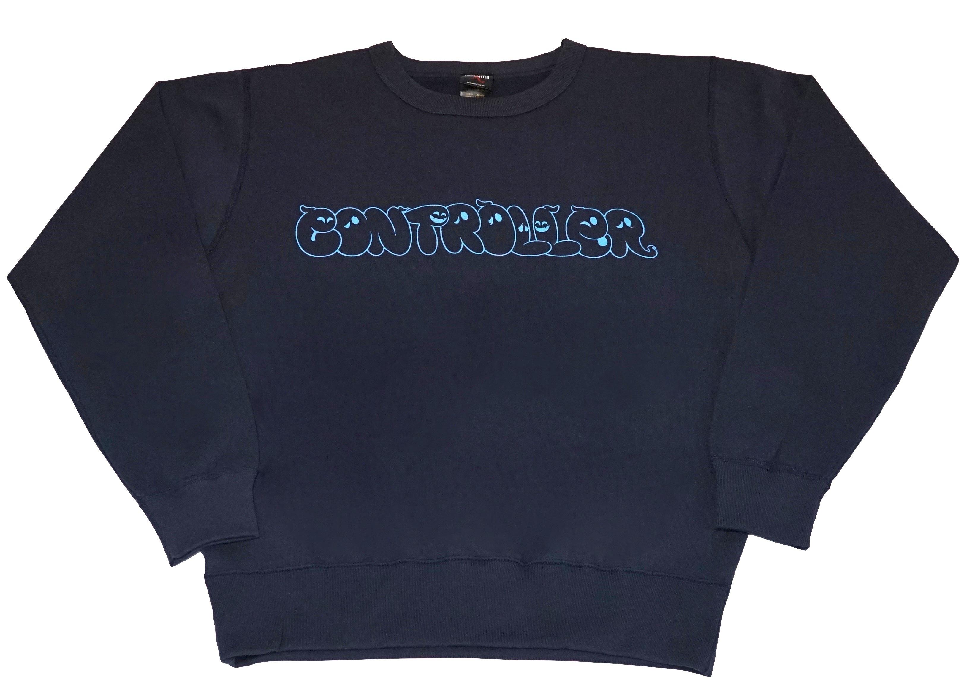 CONTROLLER / コントローラー ロゴ スウェット (ネイビー)