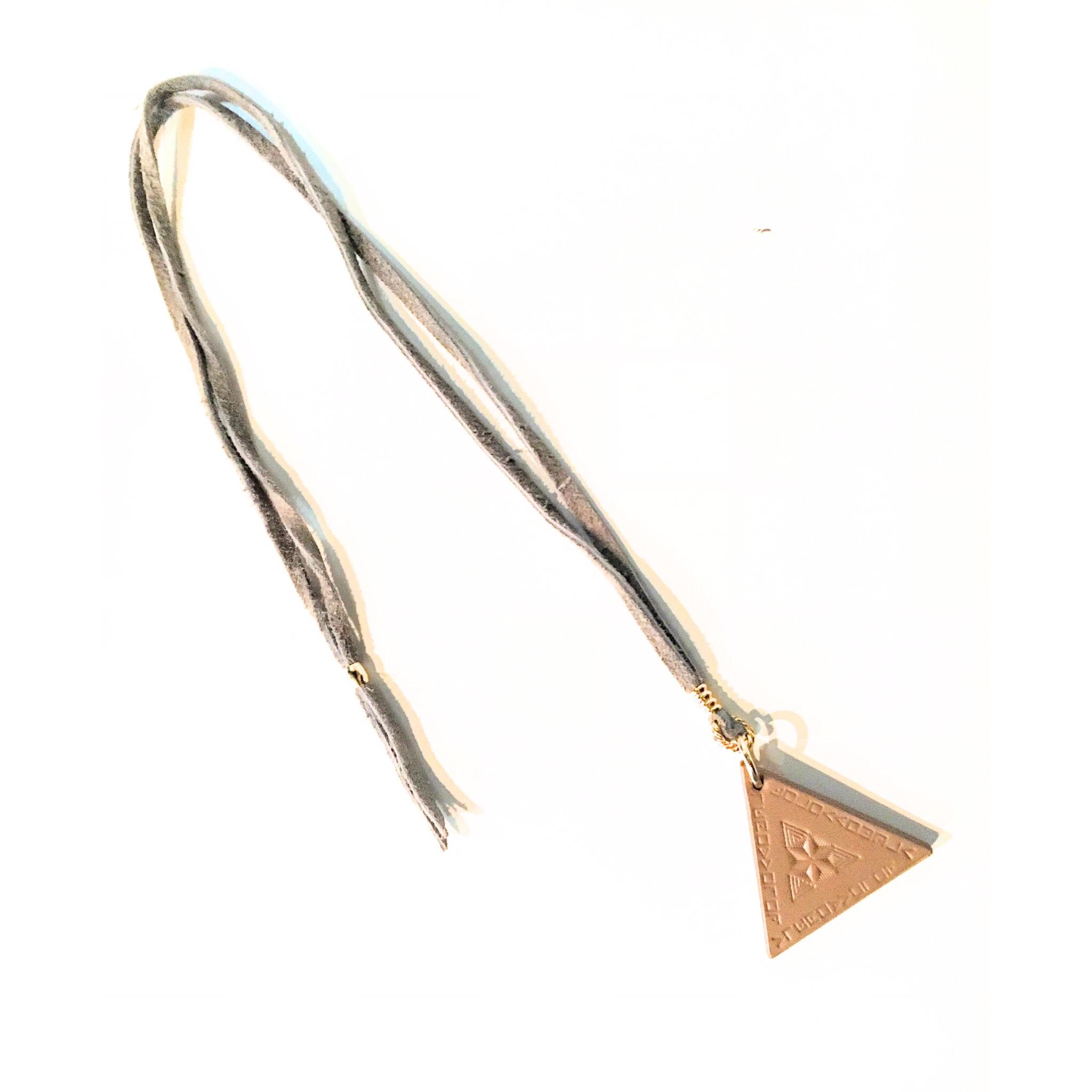 nahezu gleich/ Dreieck Necklace (grg) - 画像2