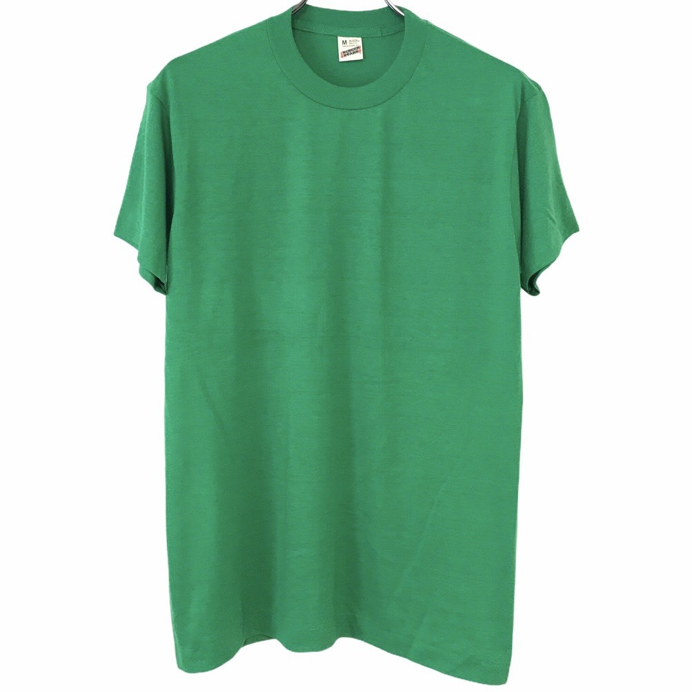 Dead Stock! 80's SCREEN STARS T-shirt made in USA Green