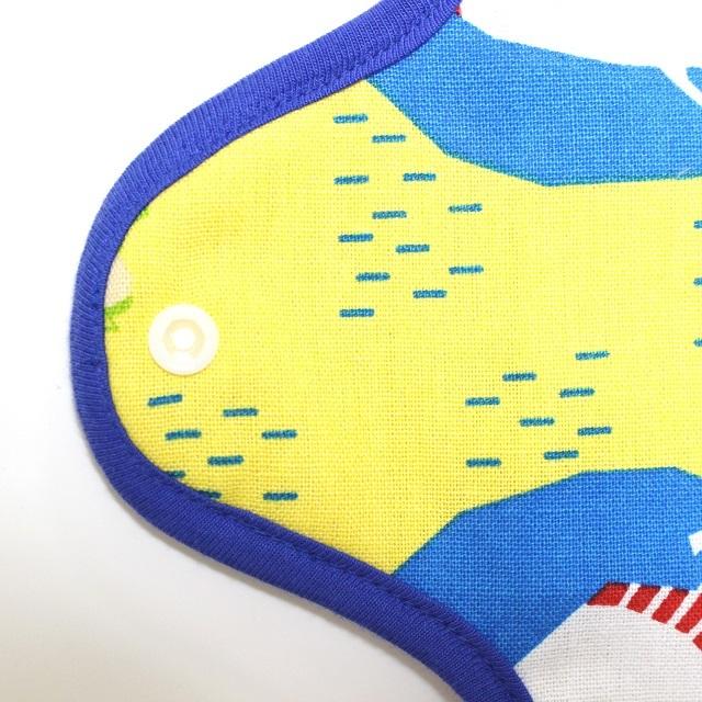 昼寝クマ*ホルダー型布ナプキン*レギュラーサイズ