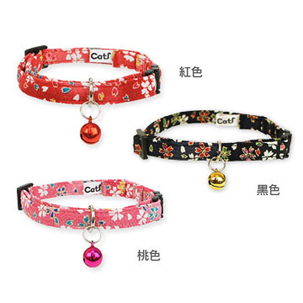 猫首輪(成猫和柄しだれ桜)全3種類