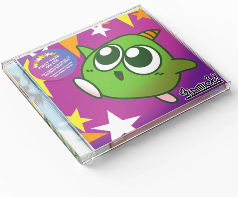ギミック! / GIMMICK! CD(リマスター版) /  iam8bit