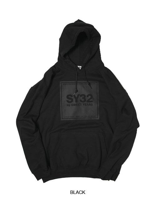 SY32 SQUARE LOGO P/O HOODIE(9301J)