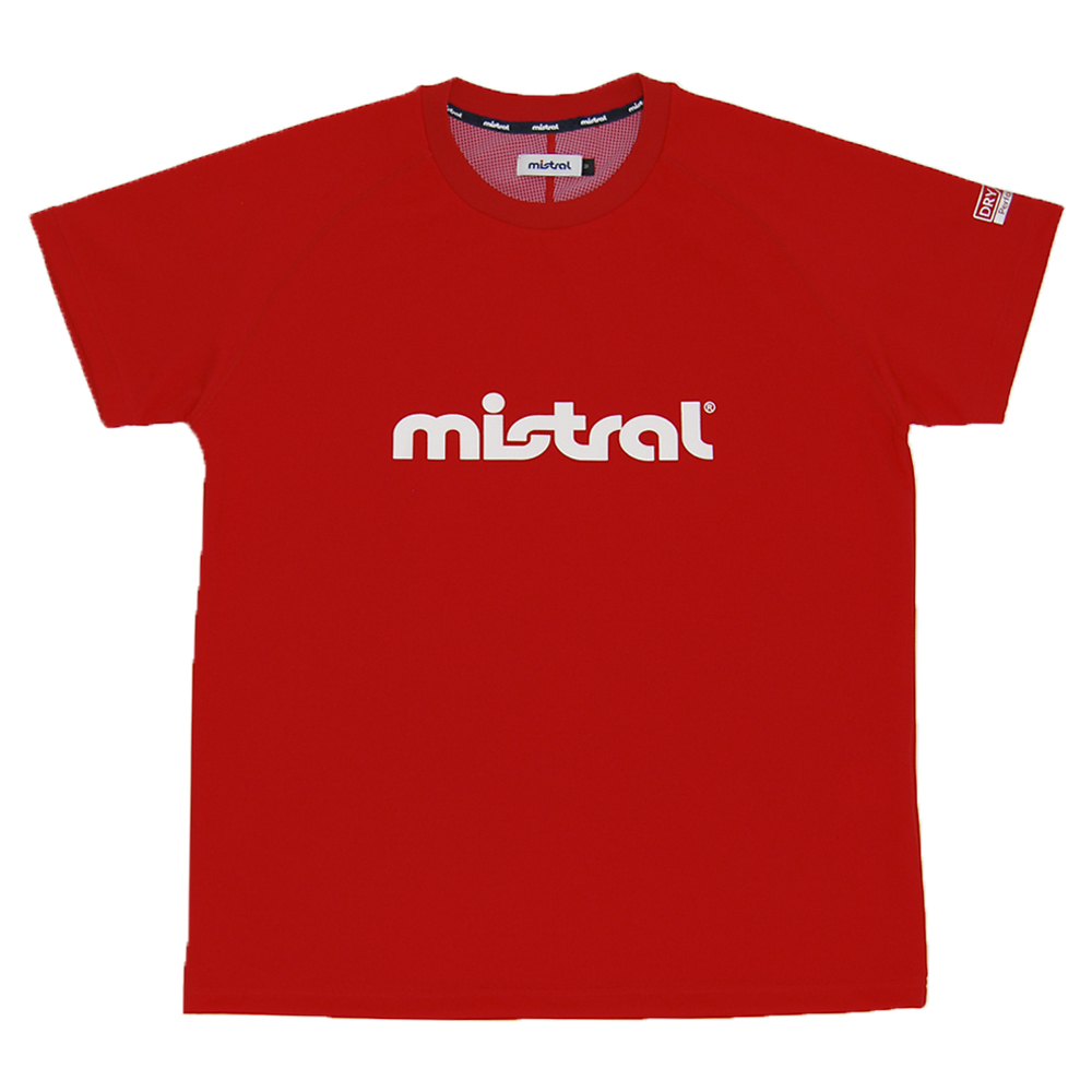 ミストラル メンズ [ HP-DRY 半袖Tシャツ -ミストラル- ] RED