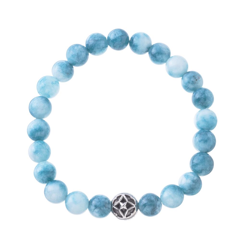 海色水晶数珠ブレス8mm ACB0112