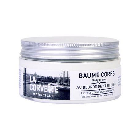 La Corvette BAUME CORPS オーガニックボディクリーム 200ml オリーブ&シアバター(AU BEURRE DE KARITE BIO)