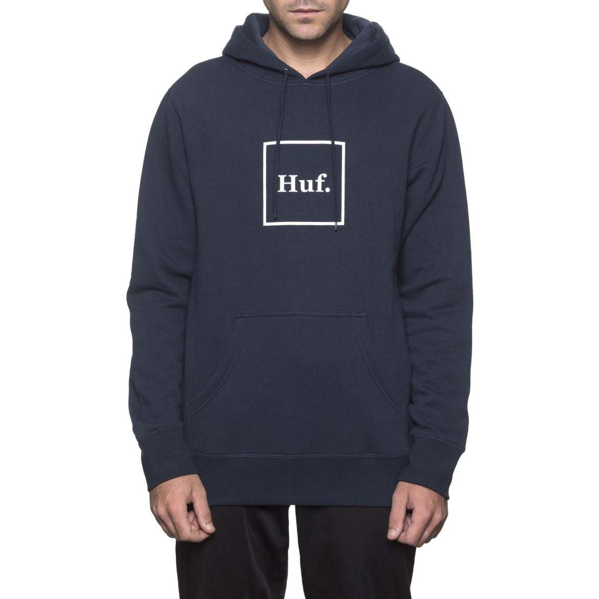 BOX LOGO PULLOVER HOODIE NAVY