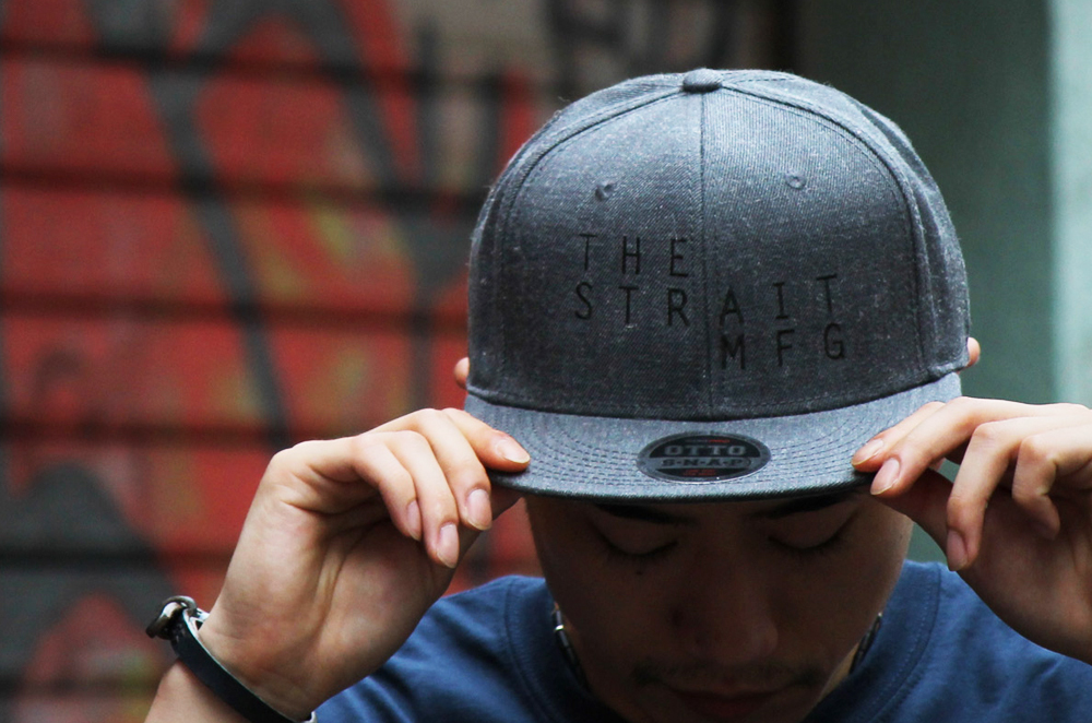 TSM SNAPBACK CAP #D.HEATHER