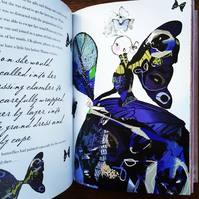 絵本「Christian Lacroix and the Tale of Sleeping Beauty」 - 画像3