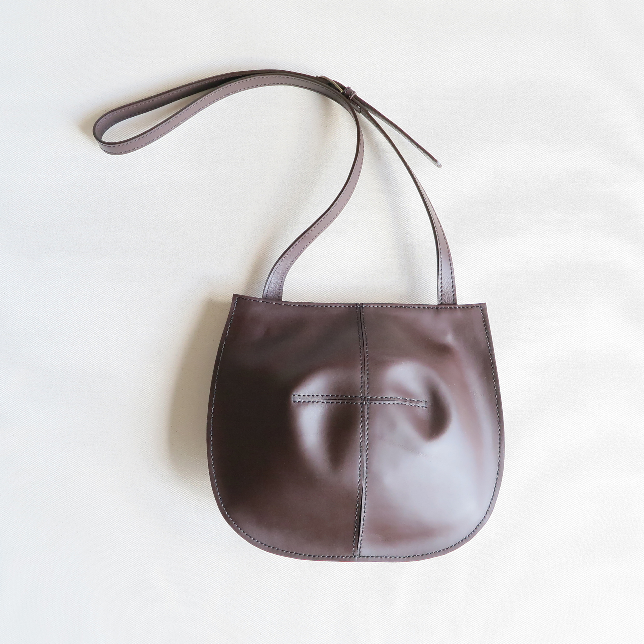 Balloon shoulder bag D.BROWN