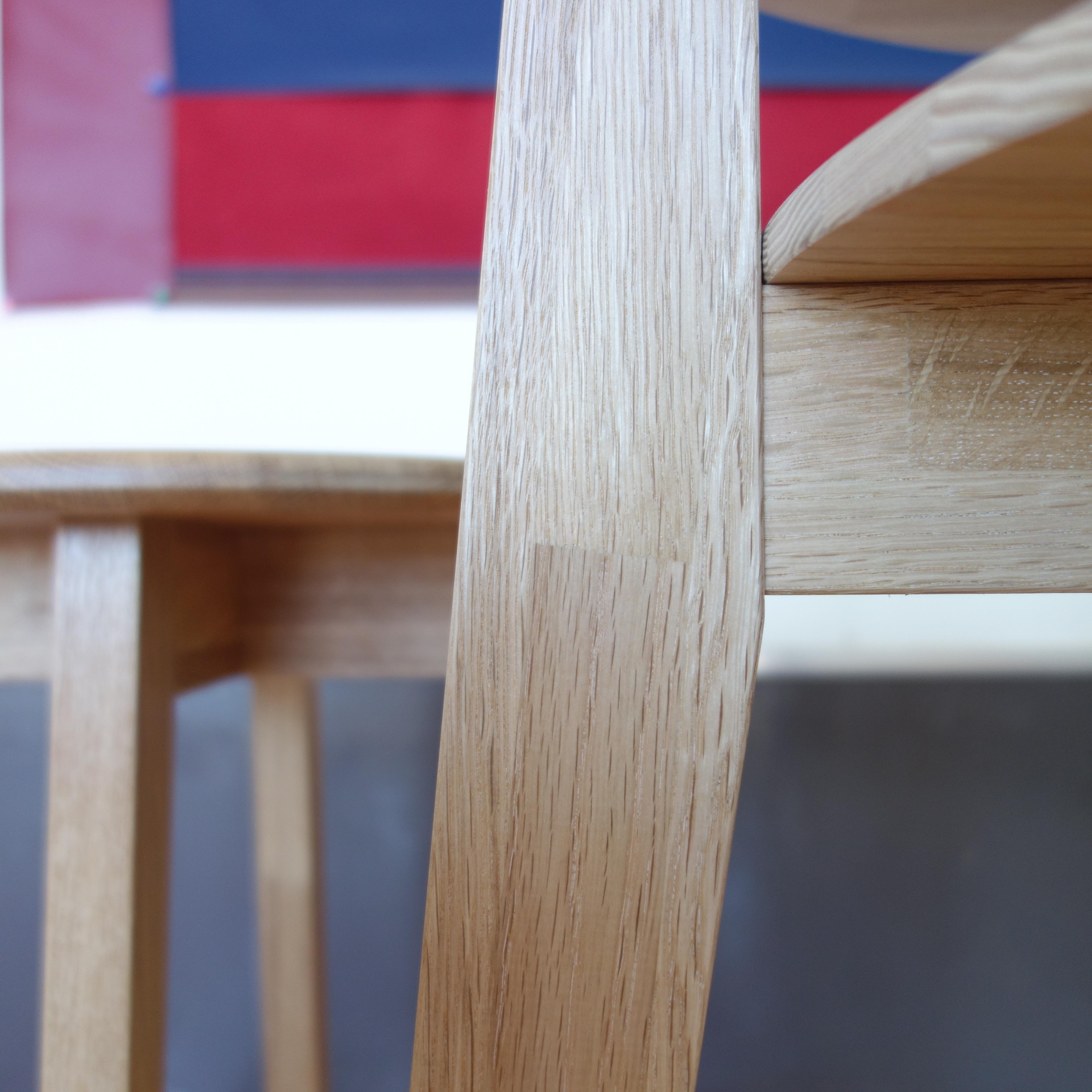 【カフェテーブル 3点セット】 テーブル×1 スツール×2 - 画像4
