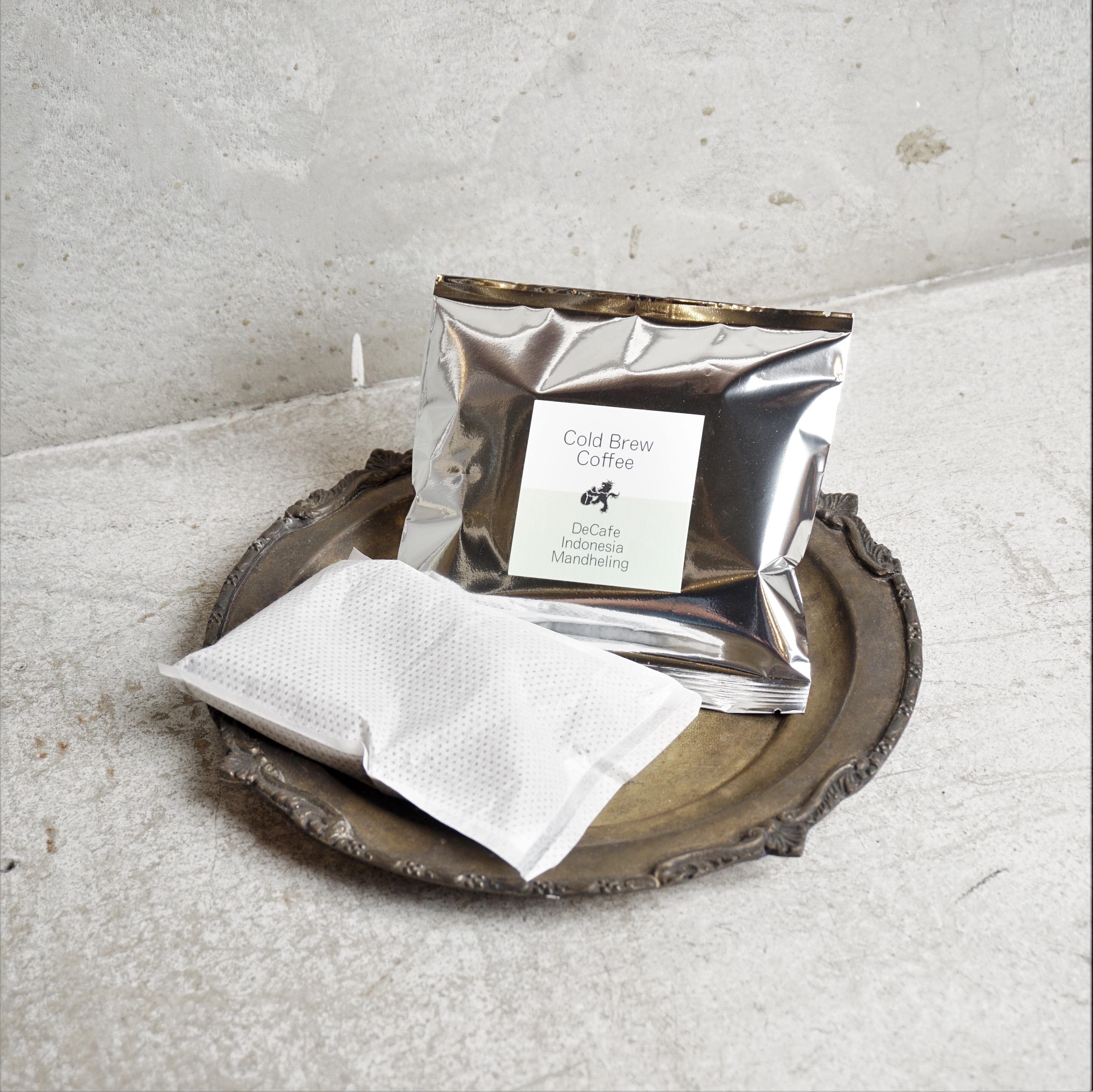 水出しコーヒーパック 1pack 【デカフェ インドネシア】