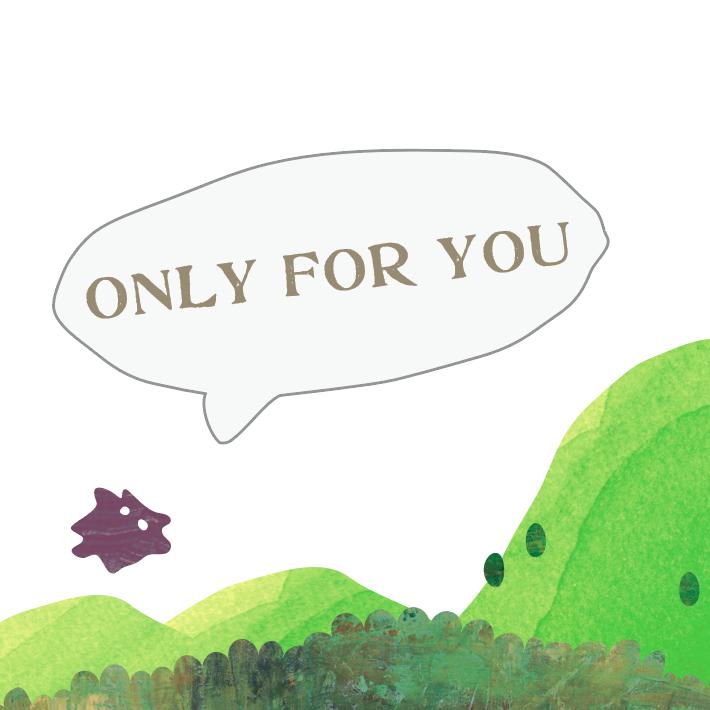 ☆無料ギフトオプション☆ メッセージカード ONLY FOR YOU