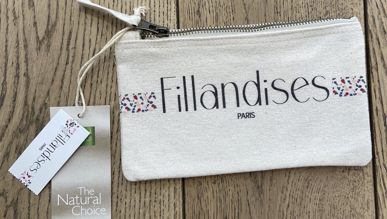 フランス小物 オーガニック・コットン100% ポーチ『FILLANDISES』