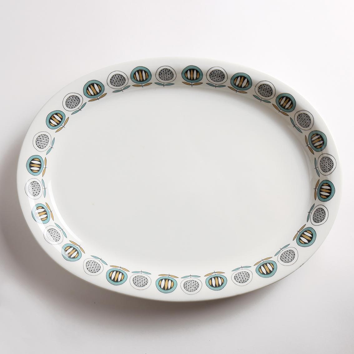 ARABIA アラビア Olivia オリビア360mm 楕円大皿 北欧ヴィンテージ