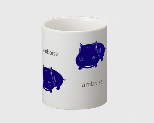 マグカップ ☆amboise×ブルー