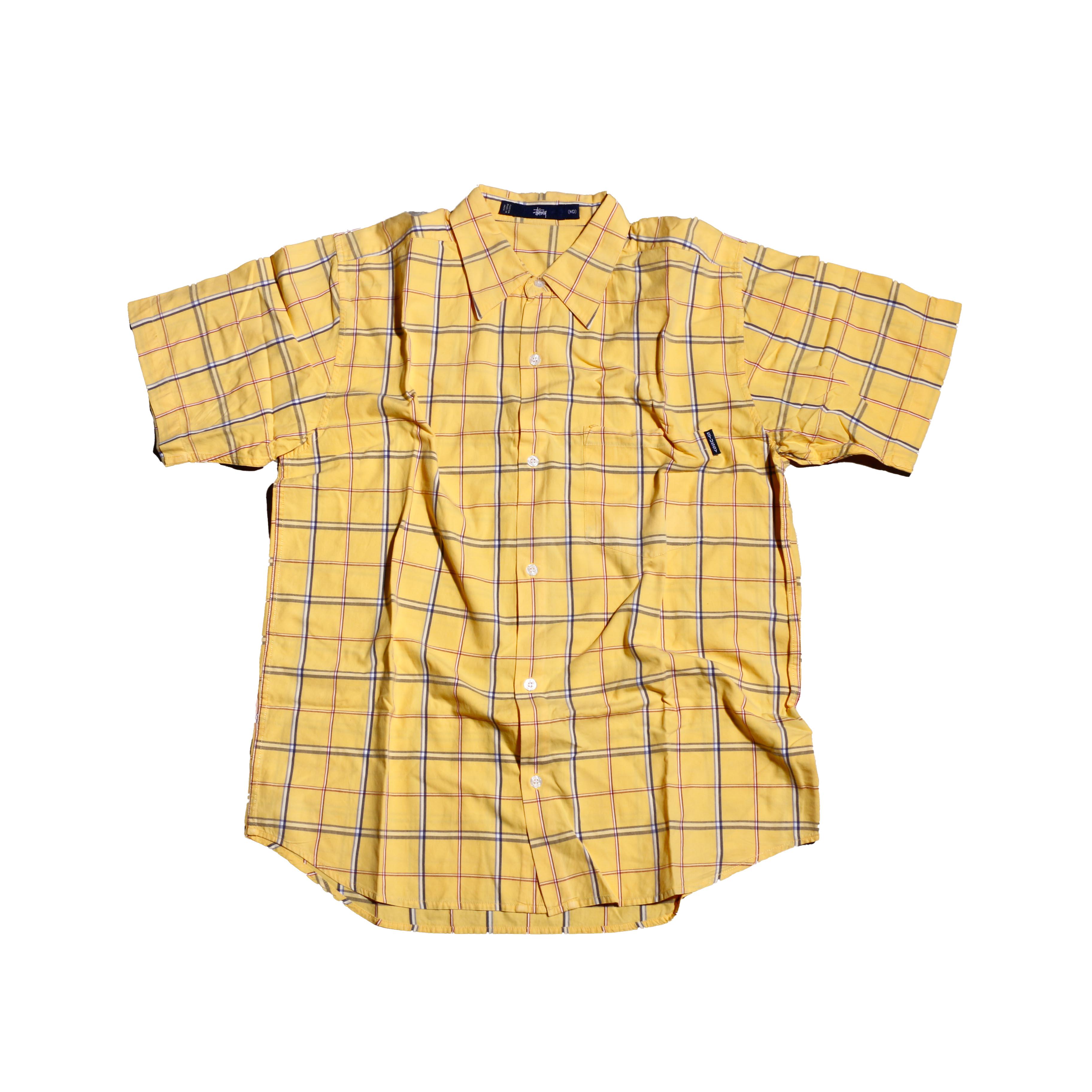 Stussy 80sVintage CheckHalfShirts