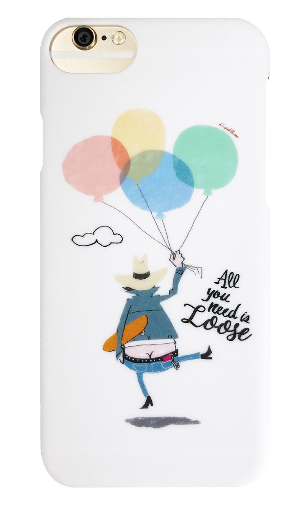 Balloon つや消しハードケース