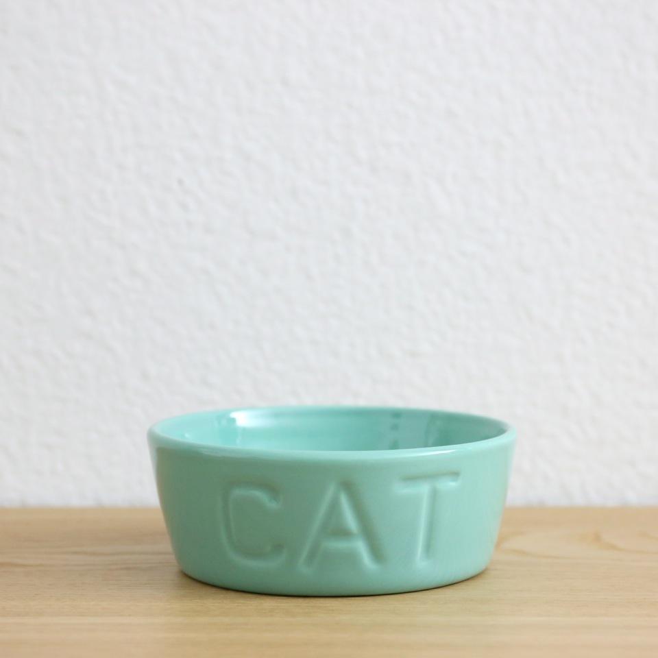 Cat Dish (Turquoise)